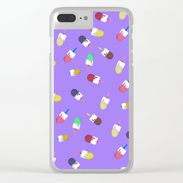 Popsicle time Clear iPhone Case