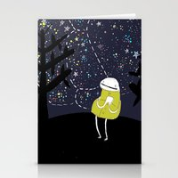 astronomy Stationery Cards featuring Astronomy by Emma LaPine