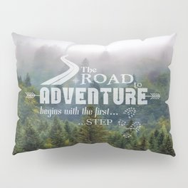 The Road To Adventure Pillow Sham