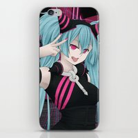 vocaloid iPhone & iPod Skins featuring Hatsune Miku - Party Junkie by Kunogi