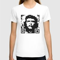 che T-shirts featuring QR- Che by Greg Guillemin