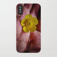 Pickin' Wild Flowers Slim Case iPhone X