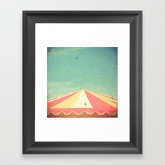 Big Top Framed Art Print