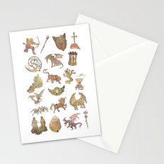 00: Constellations Stationery Cards