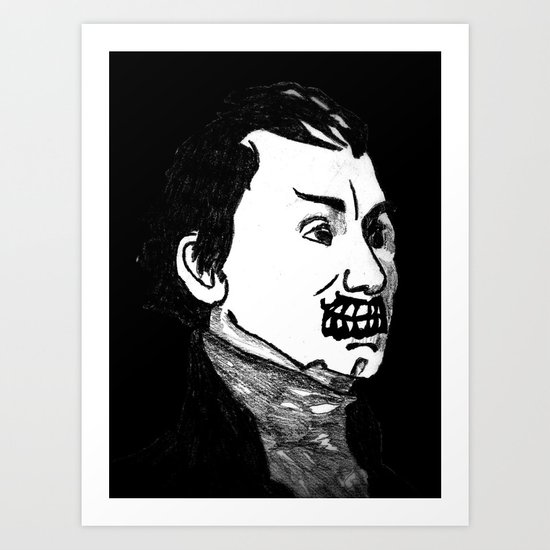 05. Zombie James Monroe Art Print