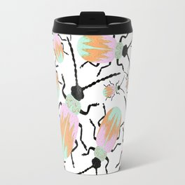 A herd of beetles Travel Mug