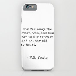 William Butler Yeats 3 iPhone Case