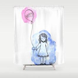 Soon Again. Shower Curtain
