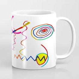 Funky Way Doodle Coffee Mug