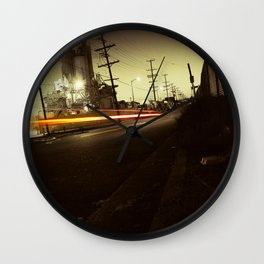 Night ride Wall Clock