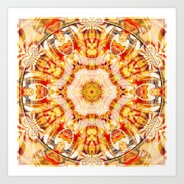 Mandalas from the Voice of Eternity 18 Art Print