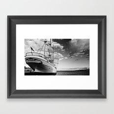 Marine. Baltic Sea. Framed Art Print
