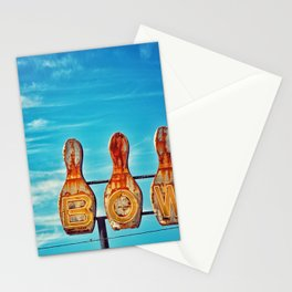 Valley Bowl - Madera, CA Stationery Cards