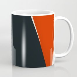 Mid century geometric large abstract Coffee Mug