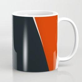 Mid century geometric large abstract Coffee Mug