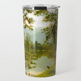 Breezy spring Travel Mug