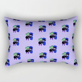 teen titans - theme Rectangular Pillow