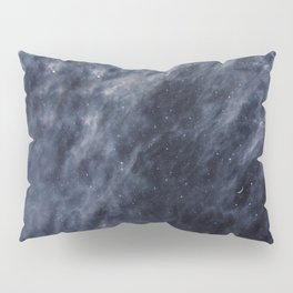 Blue Clouds, Blue Moon Pillow Sham