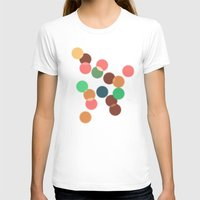 bokeh T-shirts featuring Round bokeh by Crazy Thoom