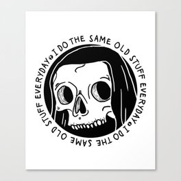 Same Old Stuff Canvas Print