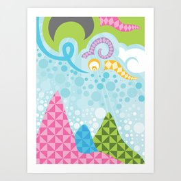 Wanderlust Pop Art Print