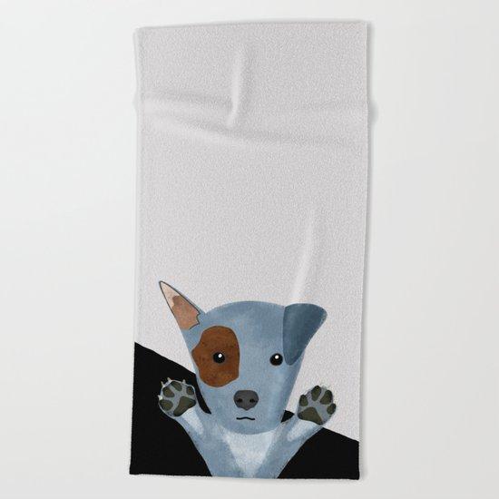 Original Dog Design Beach Towel