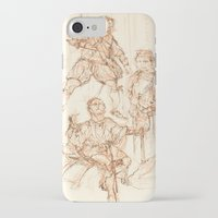 hamlet iPhone & iPod Cases featuring Scenes from Hamlet  by Kathryn Gabrielle Mauno
