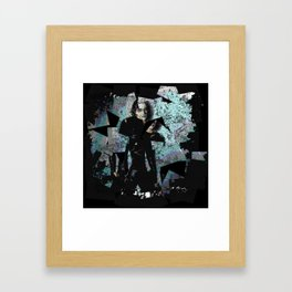 It Can't Rain All The Time Crow Framed Art Print