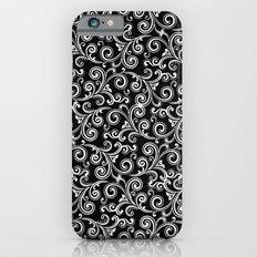 black and white swirls Slim Case iPhone 6