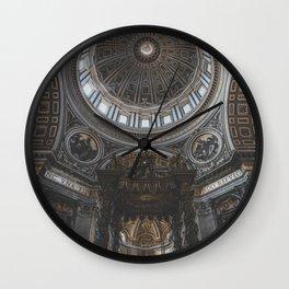 Vatican City II Wall Clock