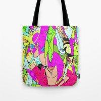 joker Tote Bags featuring Joker by Ingrid Padilla