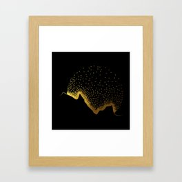 Golden Sun Framed Art Print