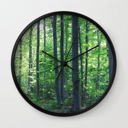 morton combs 02 Wall Clock
