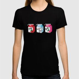 Kawaii Drink Cartons T-shirt
