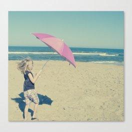 Beach Whirl Canvas Print