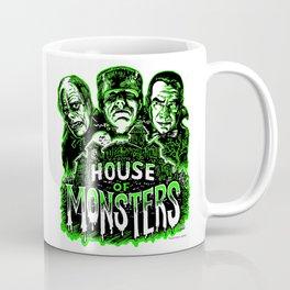 House of Monsters Phantom Frankenstein Dracula classic horror Coffee Mug