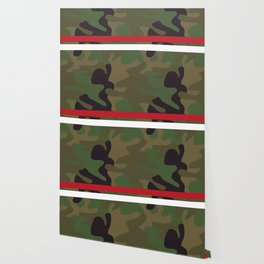 Pattern Army Camouflage Wallpaper