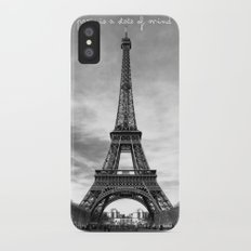 Paris is not a city, it's a state of mind Slim Case iPhone X
