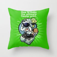Self Aware & Not Impressed Throw Pillow