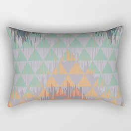 IKAT GEOMETRIE I Rectangular Pillow
