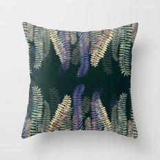 nature black Throw Pillow
