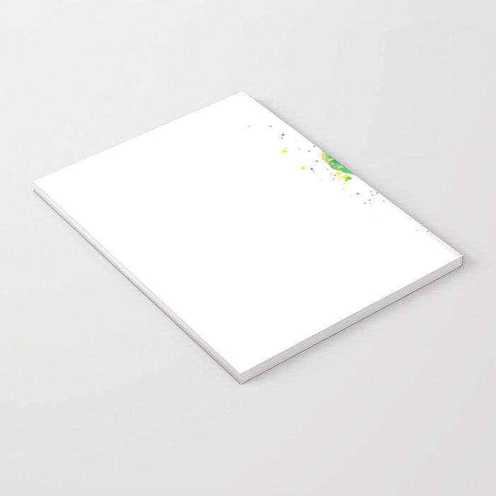 Rainbow Boxer Dog breeed Notebook