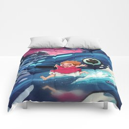 Ponyo Comforters