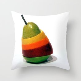 Fruit Stand Throw Pillow
