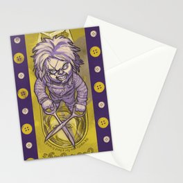 I'm Chucky, and I'm your friend till the END! Stationery Cards