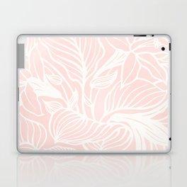 Pink Coral Floral Garden Laptop & iPad Skin