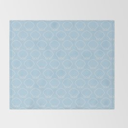 Clam-ity Jane Throw Blanket