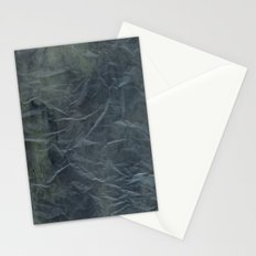 Steel Blue Paper Texture Stationery Cards