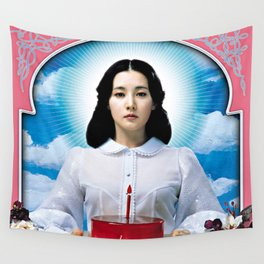 Sympathy for Lady Vengeance Wall Tapestry