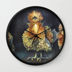 Rise of the Frizzel Chickens. Wall Clock